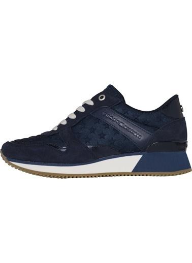 Tommy Hilfiger Kadın Star Sneaker Sneakers FW0FW02806 Lacivert